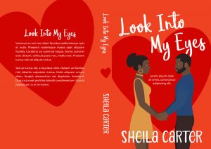 Look Into My Eyes - African-American Chick-lit Premade Book Cover For Sale @ Beetiful Book Covers