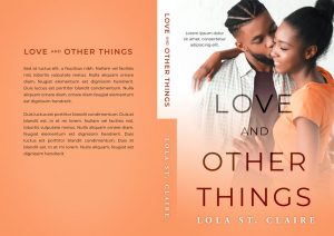 Love and Other Things - African-American Contemporary Romance Premade Book Cover For Sale @ Beetiful Book Covers