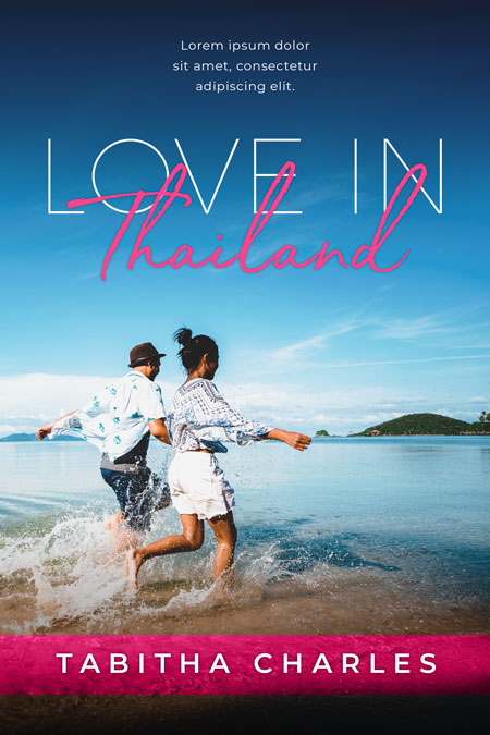 Love In Thailand - Asian Contemporary Romance Premade Book Cover For Sale @ Beetiful Book Covers