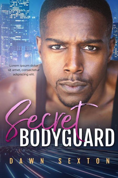 Secret Bodyguard - African-American Romantic Suspense Premade Book Cover For Sale @ Beetiful Book Covers