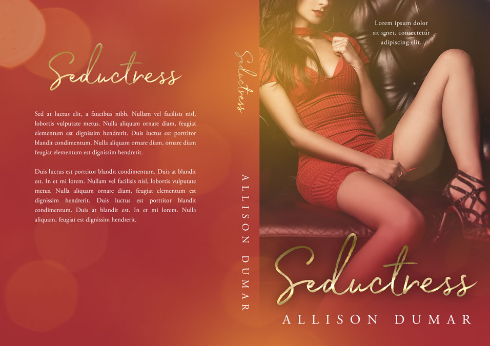 Seductress - Erotic Romance Premade Book Cover For Sale @ Beetiful Book Covers