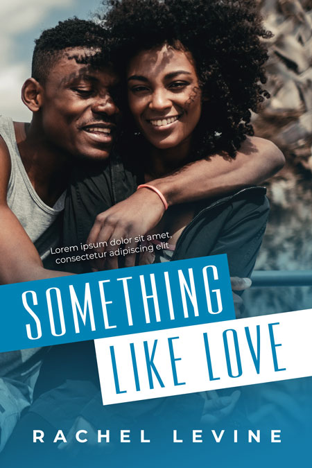 Something Like Love - African-American Contemporary Romance Premade Book Cover For Sale @ Beetiful Book Covers
