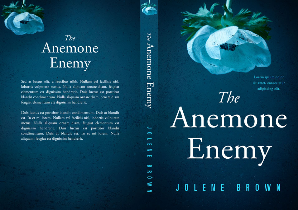 The Anemone Enemy - Mystery / Suspense, Psychological Thriller Premade Book Cover For Sale @ Beetiful Book Covers