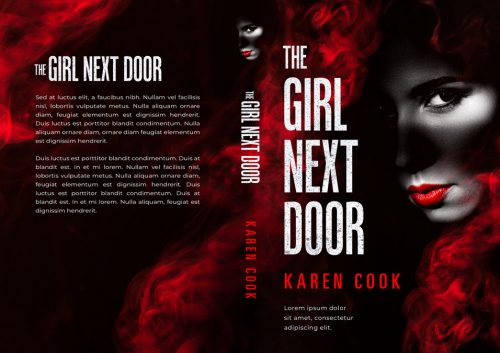 The Girl Next Door - Mystery, Suspense, Thriller Premade Book Cover For Sale @ Beetiful Book Covers