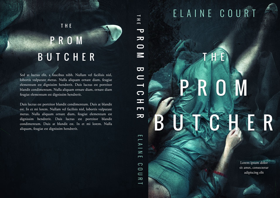The Prom Butcher - Mystery, Thriller, Suspense Premade Book Cover For Sale @ Beetiful Book Covers