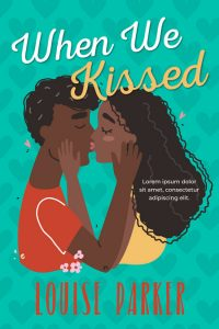 When We Kissed - African-American Chick-lit Premade Book Cover For Sale @ Beetiful Book Covers