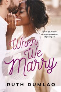 When We Marry - Interracial Contemporary Romance Premade Book Cover For Sale @ Beetiful Book Covers