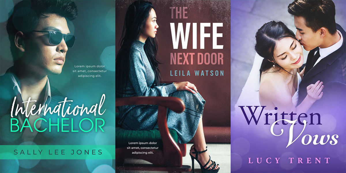 26 New Asian Premade Book Covers