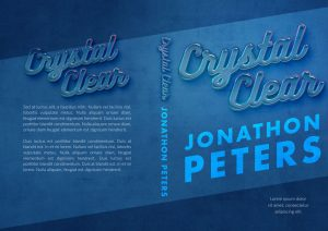 Crystal Clear - Typography / Text Effect Premade Book Cover For Sale @ Beetiful Book Covers