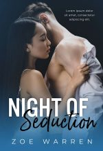Night of Seduction – Interracial Romance Premade Book Cover For Sale @ Beetiful Book Covers
