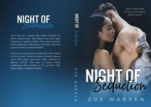Night of Seduction - Interracial Romance Premade Book Cover For Sale @ Beetiful Book Covers