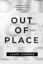 Out of Place – Typography / Text Effect Premade Book Cover For Sale @ Beetiful Book Covers