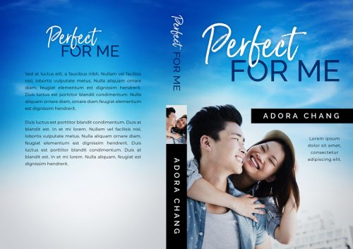 Perfect For Me - Asian Contemporary Romance Premade Book Cover For Sale @ Beetiful Book Covers