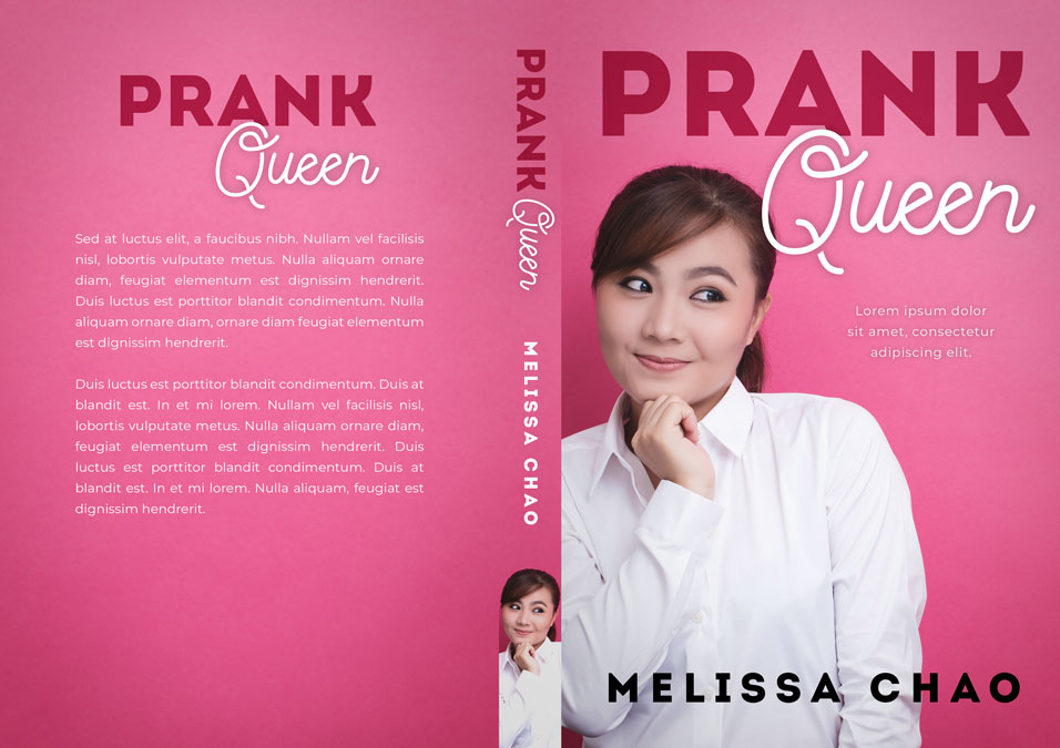 Prank Queen - Asian Chick-lit Premade Book Cover For Sale @ Beetiful Book Covers