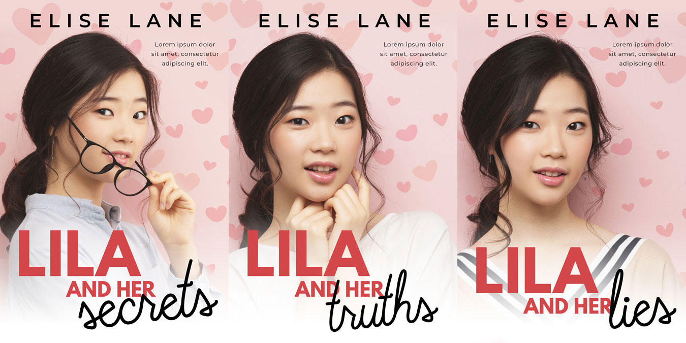 Series: Lila and Her Secrets - Asian Young Adult Series Premade Book Covers For Sale - Beetiful
