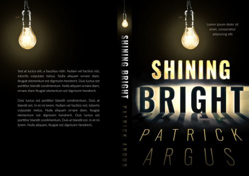 Shining Bright - Typography / Text Effect Premade Book Cover For Sale @ Beetiful Book Covers