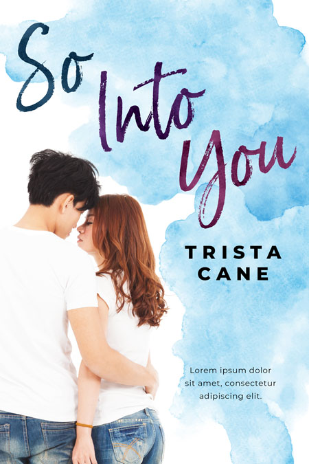 So Into You - Asian Contemporary Romance Premade Book Cover For Sale @ Beetiful Book Covers