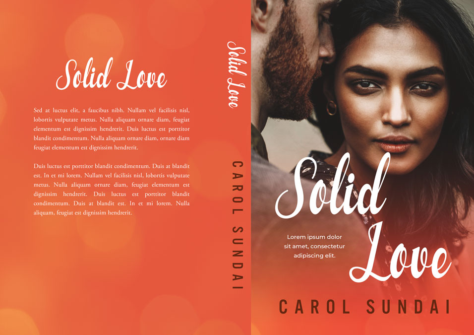 Solid Love - Asian Indian / Interracial Romance Premade Book Cover For Sale @ Beetiful Book Covers