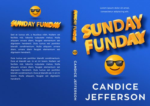 Sunday Funday - Humor, Twisted Text Effect Premade Book Cover For Sale @ Beetiful Book Covers