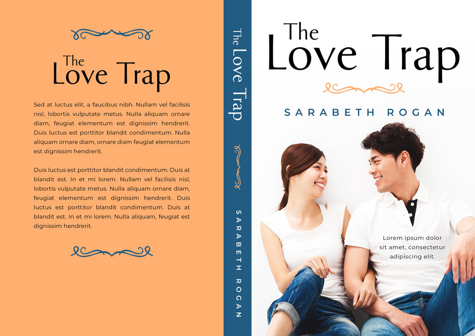 The Love Trap - Asian Contemporary Romance Premade Book Cover For Sale @ Beetiful Book Covers