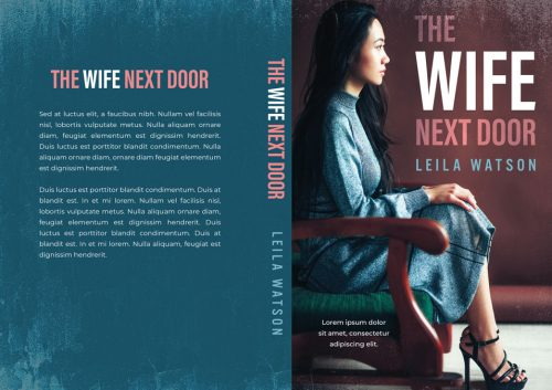 The Wife Next Door - Asian Literary Fiction Premade Book Cover For Sale @ Beetiful Book Covers