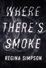 Where There's Smoke – Typography / Smoke Text Effect Premade Book Cover For Sale @ Beetiful Book Covers