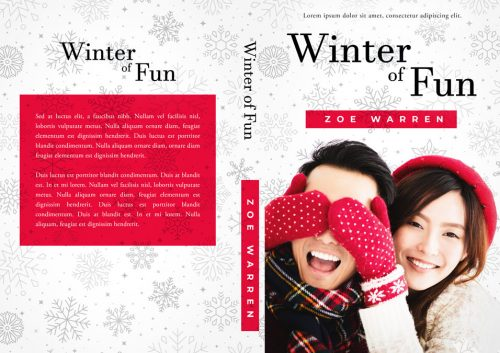 Winter of Fun - Asian Contemporary Romance Premade Book Cover For Sale @ Beetiful Book Covers