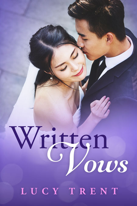 Written Vows - Asian Contemporary Romance Premade Book Cover For Sale @ Beetiful Book Covers