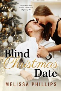 Blind Christmas Date - Christmas Romance Premade Book Cover For Sale @ Beetiful Book Covers