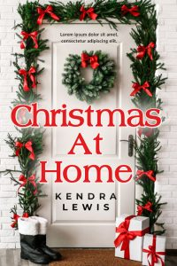 Christmas At Home - Christmas Premade Book Cover For Sale @ Beetiful Book Covers