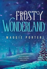 Frosty Wonderland – Illustrated Winter Premade Book Cover For Sale @ Beetiful Book Covers