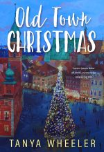 Old Town Christmas – Illustrated Christmas Premade Book Cover For Sale @ Beetiful Book Covers