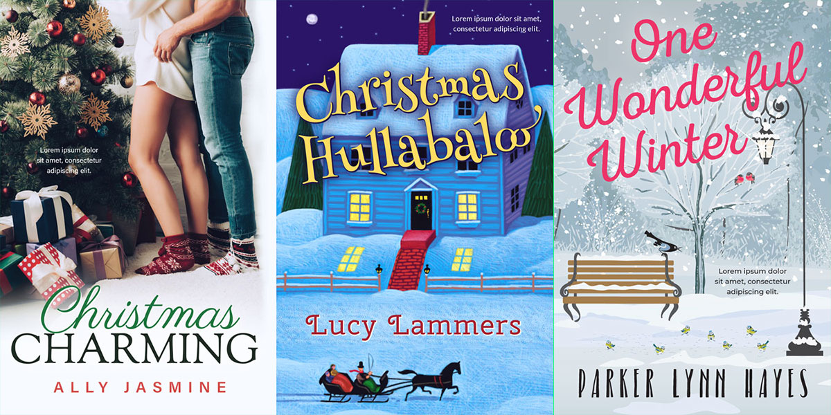 Christmas in July! 20 New Christmas Premade Book Covers