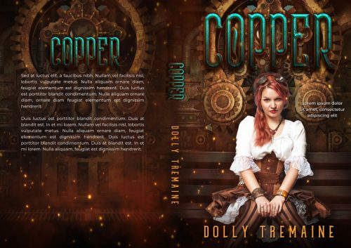 Copper - Steampunk / Science-Fiction Premade Book Cover For Sale @ Beetiful Book Covers