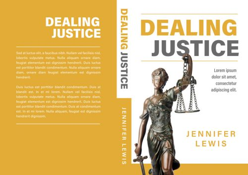 Dealing Justice- Non-fiction Law Premade Book Cover For Sale @ Beetiful Book Covers
