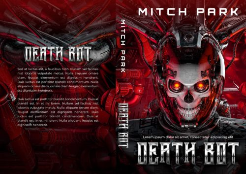 Death Bot - Science-Fiction Premade Book Cover For Sale @ Beetiful Book Covers - Non-fiction Self-Help Premade Book Cover For Sale @ Beetiful Book Covers