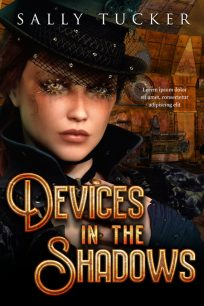 Devices in the Shadows - Steampunk / Science-Fiction Premade Book Cover For Sale @ Beetiful Book Covers
