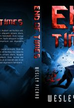 End of Times – Illustrated Science-Fiction Premade Book Cover For Sale @ Beetiful Book Covers