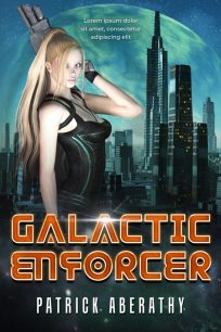 Galactic Enforcer - Computer Generated Science-Fiction Premade Book Cover For Sale @ Beetiful Book Covers