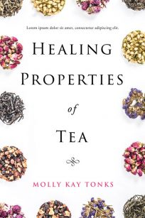 Healing Properties of Tea - Non-fiction Tea Premade Book Cover For Sale @ Beetiful Book Covers