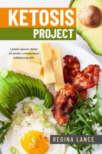 Ketosis Project - Non-fiction Keto Diet Premade Book Cover For Sale @ Beetiful Book Covers