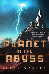 Planet in the Abyss - Science-Fiction Premade Book Cover For Sale @ Beetiful Book Covers