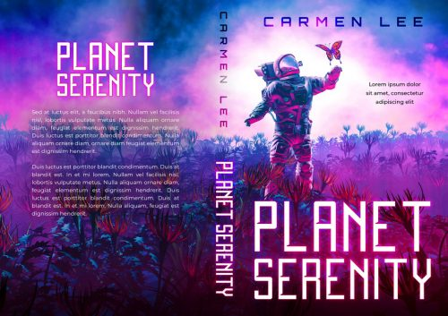 Planet Serenity - Science-Fiction Premade Book Cover For Sale @ Beetiful Book Covers