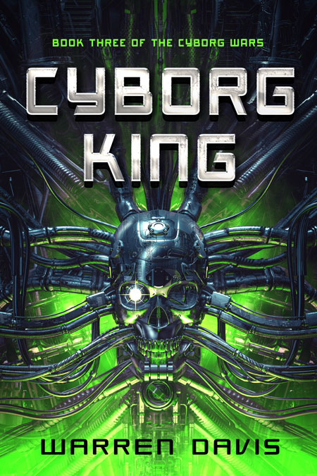 Series: Cyborg Wars - Science-Fiction Series Premade Book Covers For Sale - Beetiful