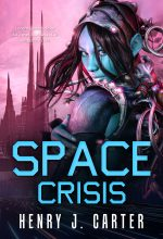Space Crisis – Science-Fiction Premade Book Cover For Sale @ Beetiful Book Covers