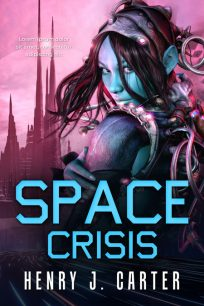 Space Crisis - Science-Fiction Premade Book Cover For Sale @ Beetiful Book Covers