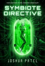 Symbiote Directive – Computer Generated Science-Fiction Premade Book Cover For Sale @ Beetiful Book Covers