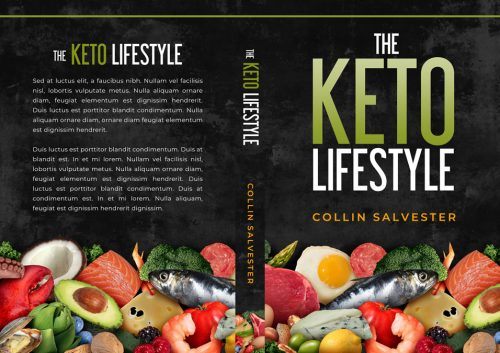 The Keto Lifestyle - Non-fiction Keto Diet Premade Book Cover For Sale @ Beetiful Book Covers