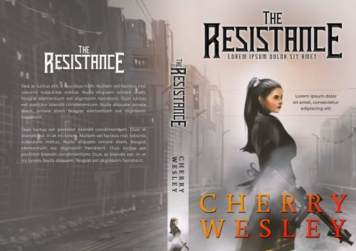 The Resistance - Science-Fiction Premade Book Cover For Sale @ Beetiful Book Covers