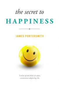 The Secret to Happiness - Non-fiction Self-Help Premade Book Cover For Sale @ Beetiful Book Covers